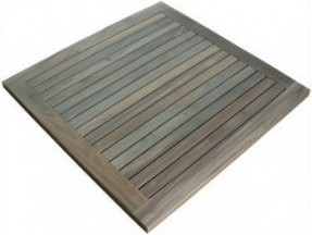 Roll Up Teak Bath Mats Teak Bath Mat Central